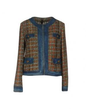 Пиджак TENAX. Цвет: коричневый