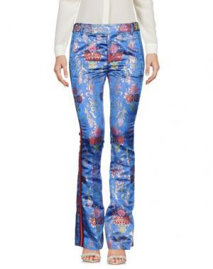 Повседневные брюки FEMME by MICHELE ROSSI. Цвет: ярко-синий