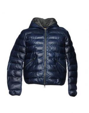 Куртка D'AMICO. Цвет: темно-синий