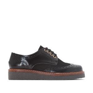 Ботинки-дерби на шнуровке JONAK. Цвет: черный