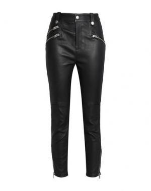 Повседневные брюки COACH. Цвет: черный