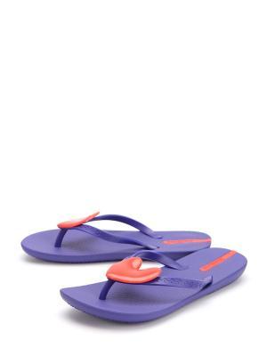 Сабо IPANEMA. Цвет: фиолетовый