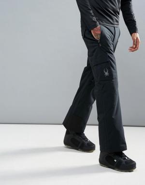 Spyder Горнолыжные брюки Troublemaker. Цвет: черный