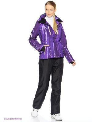 Куртка HALTI. Цвет: фиолетовый