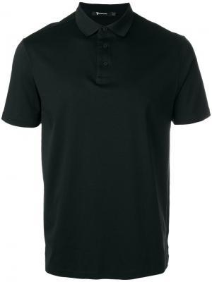 Классическая футболка-поло T By Alexander Wang. Цвет: чёрный