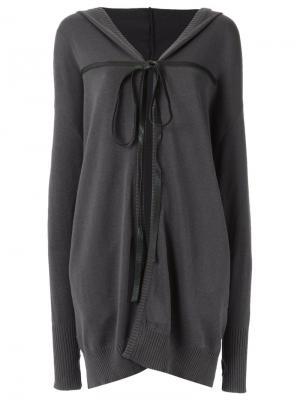 Tie fastening cardigan Uma | Raquel Davidowicz. Цвет: серый