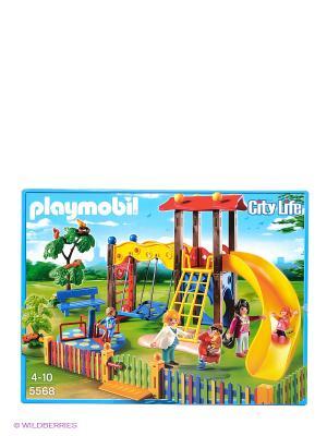 Конструктор Игровая площадка Playmobil. Цвет: желтый