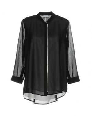 Pубашка CONTE OF FLORENCE. Цвет: черный