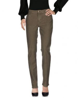 Повседневные брюки HEAVY PROJECT. Цвет: зеленый-милитари
