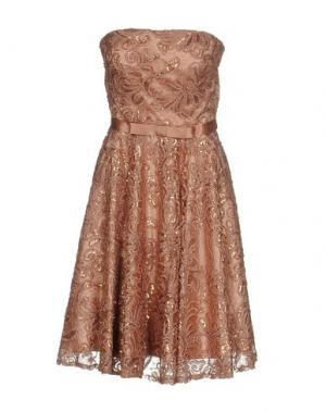 Короткое платье MUSANI COUTURE. Цвет: пастельно-розовый
