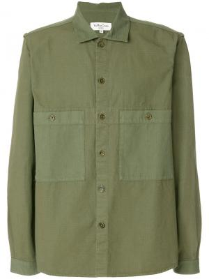 Рубашка Doc Savage YMC. Цвет: зелёный