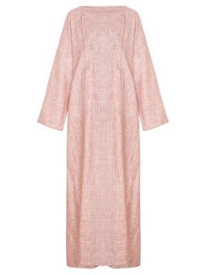 Платье с защипами розовое Bella kareema