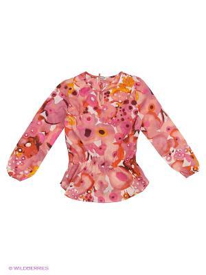 Туника LEMUR. Цвет: коралловый