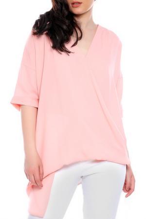 Блуза Moda di Chiara. Цвет: розовый