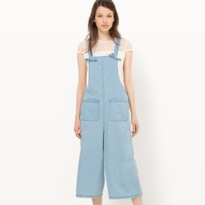 Комбинезон джинсовый легкий MADEMOISELLE R. Цвет: синий