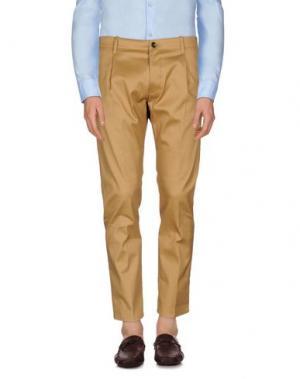 Повседневные брюки NINE:INTHE:MORNING. Цвет: верблюжий
