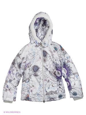 Куртка Stayer. Цвет: белый, серый, голубой, фиолетовый