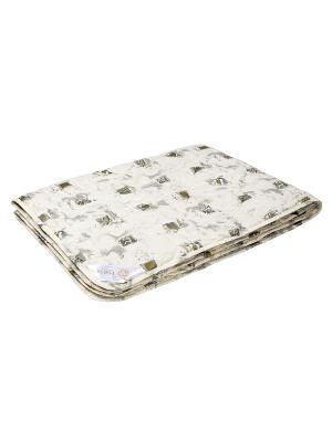 Одеяло Золотое руно 200х220 ECOTEX. Цвет: бежевый