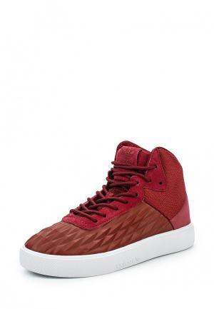Кеды adidas Originals. Цвет: бордовый