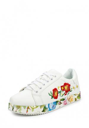 Кеды Sweet Shoes. Цвет: белый