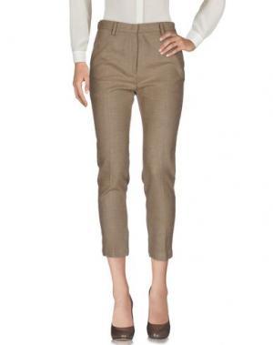 Повседневные брюки MYTHS. Цвет: хаки