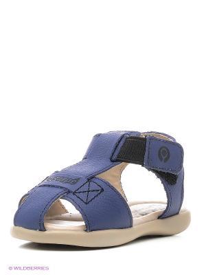 Сандалии Ortope. Цвет: голубой