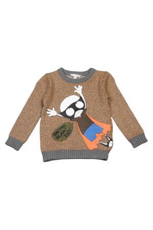 Пуловер Little Marc Jacobs. Цвет: желтый, оранжевый