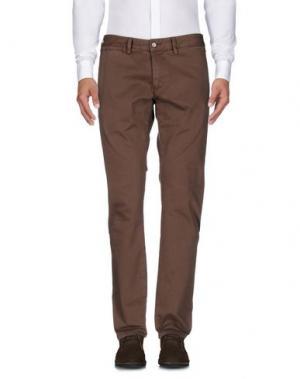 Повседневные брюки ALV ANDARE LONTANO VIAGGIANDO. Цвет: темно-коричневый