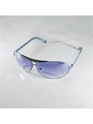 Солнцезащитные очки MACAR. Цвет: лазурный