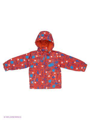 Куртка M&DCollection. Цвет: красный