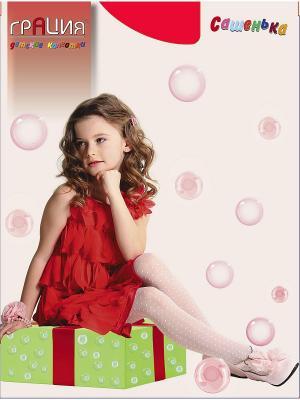 Колготки детские Сашенька Грация. Цвет: красный