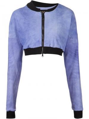 Укороченный пиджак Ødd.. Цвет: синий