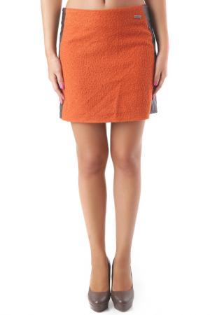 Юбка Sexy Woman. Цвет: оранжевый