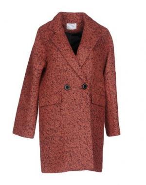 Пальто ANONYME DESIGNERS. Цвет: ржаво-коричневый