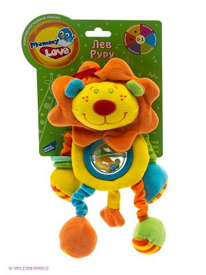 Игрушка Лев Руру MOMMY LOVE. Цвет: желтый, голубой, оранжевый