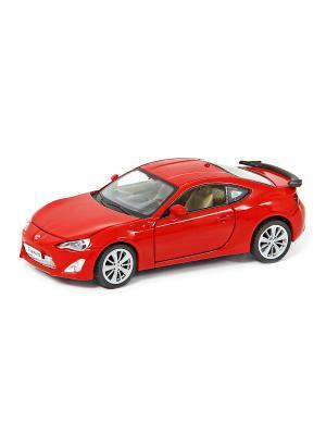 Машина металлическая Toyota FT86 1:32. HOFFMANN. Цвет: красный