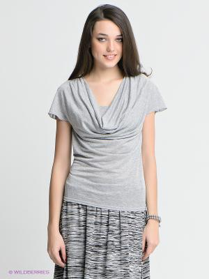Кофточка Yudashkin Jeans. Цвет: светло-серый, серебристый