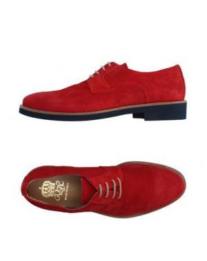 Обувь на шнурках VIA DEI CALZAIUOLI. Цвет: красный