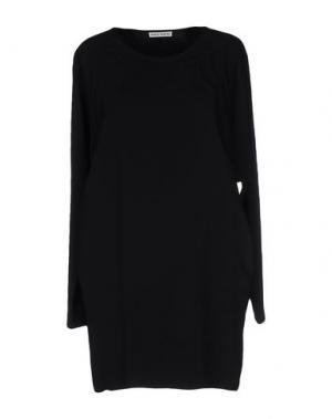 Короткое платье MARTA MARTINO. Цвет: черный