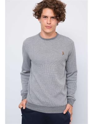 Джемпер U.S. Polo Assn.. Цвет: серый