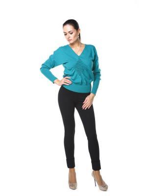 Пуловер Maria Grazia Severi. Цвет: бирюзовый