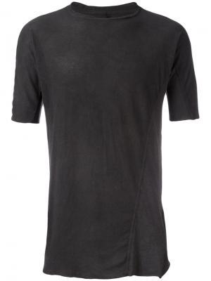 Базовая футболка Masnada. Цвет: чёрный