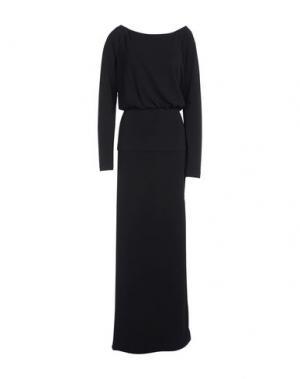 Длинное платье LOVE MOSCHINO. Цвет: черный