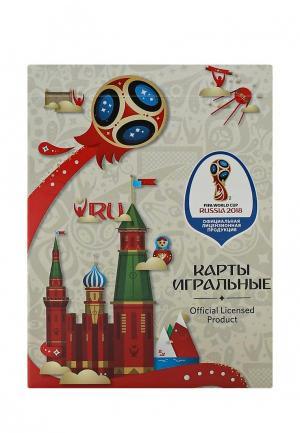 Карты игральные 2018 FIFA World Cup Russia™. Цвет: красный