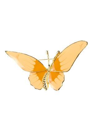 Брошь Bijoux Land. Цвет: золотистый, бежевый, коричневый