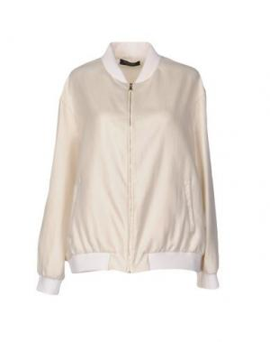 Куртка +MINI. Цвет: бежевый