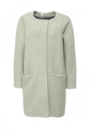 Пальто Tutto Bene. Цвет: мятный