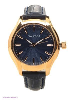 Часы Nautica. Цвет: золотистый