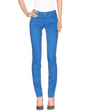 Повседневные брюки ZU+ELEMENTS. Цвет: лазурный