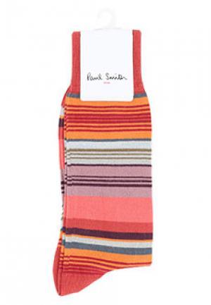 Носки PAUL SMITH. Цвет: оранжевый